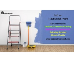 Where can you get affordable Painting Services in Miami? | EZ Construction