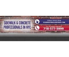 The Best Sidewalk Repair Service in NYC