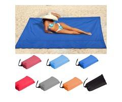 100x145cm Waterproof Beach Mat Outdoor Portable Picnic Mat Camping Sun Shelter Awning Sleeping Mat