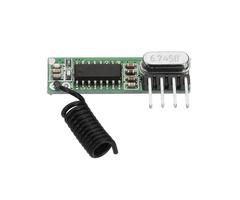 3pcs DC3~5V AK-119 433.92MHZ 4 Pin Superheterodyne Receiver Board Without Decoding -105dBm Sensitivi