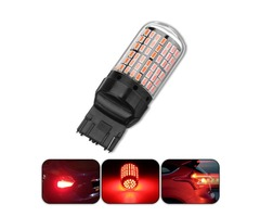 1Pcs T20 7440 3014 144LED Car Turn Signal Lights Red Stop Brake Lamp Bulb 4.2W DC12V