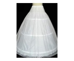 Double Layers Gauze Ball Gown Wedding Petticoat