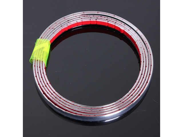 Chrome Car Styling Moulding Strip Trim Self Adhesive Crash Protecter | free-classifieds-usa.com