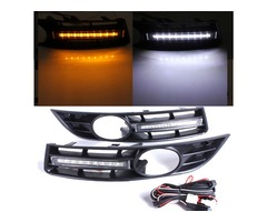 Paar Front Grille Grille 6 LED Tagfahrlicht Lamp For VW For Volkswagen For Passat | free-classifieds-usa.com