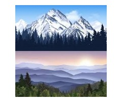 Landscape wall art for room decoration on Tiaracle