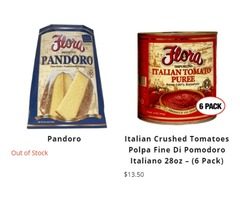 Buy Traditional Italian Food Online in The US - Visit Flora Today!