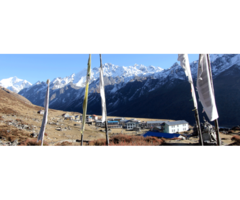 Langtang valley and Ganja La pass