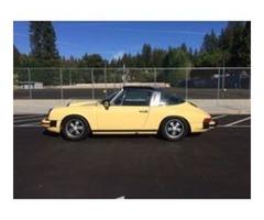 beautiful  1976 Porsche 911 Targa