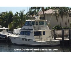 1988, 65′ Hatteras 65 Convertible Enclosed Bridge
