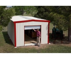 Install a Prefab Metal Garage on your Property