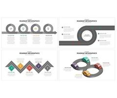 Roadmap Infographic Template | Slideheap