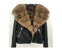Shearling Leather Jacket For Men and Women