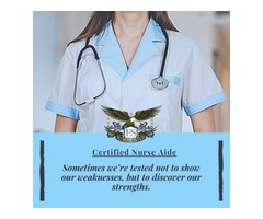Discover Your Strength – Certified Nurse Aide Class