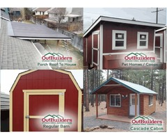 Custom Metal Sheds & Pole Barn Builders In Oregon - Outbuilders