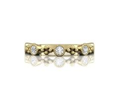 18K Yellow Gold Forevermark Diamond Band - SKU: 118-10936