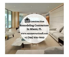 Certified Professional Remodeling Contractors In Miami, FL | EZ Construction
