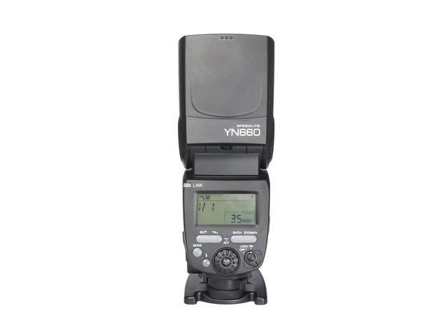 Yongnuo YN660 Wireless GN66 2.4G Flash Speedlite for Canon Nikon Pentax Cameras   free-classifieds-usa.com