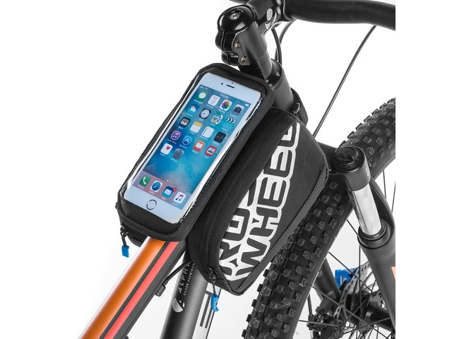 ROSWHEEL 5.5 inch Tough Screenn Bicycle Tube Bag Pack Cycling Phone Bags Case Bicycle Accessories | free-classifieds-usa.com