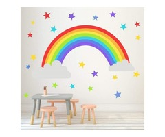 Rainbow Wall Decal For Nursery