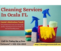 High quality cleaning services in Ocala, Fl