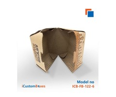 Customize the custom burger boxes wholeasale at iCustomBoxes