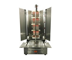 Shawarma Machine   Commercial Vertical Broiler 4 Burners   Energy Saver Commercial Quality