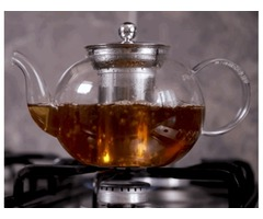 Online Store Buy Best Glass Tea Kettle With Infuser