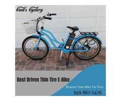 Best Driven Thin Tire eBike in Newport Beach CA