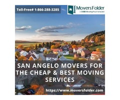 San Angelo Movers for the Cheap & Best Moving Services