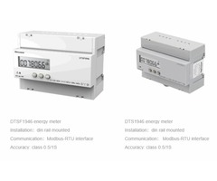 Din Rail 3 Phase kwh Meter in USA