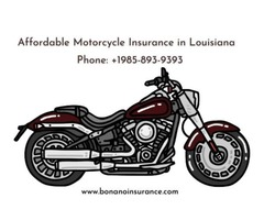 Affordable Motorcycle Insurance in Louisiana