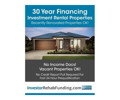 30 Year Rental Property Financing – Refi Cash Out Up To $2,000,000 – No Income Docs!