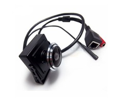 HQCAM 1080P Audio Video Camera MINI IP Camera H.264 Microphone Camera P2P Network 1.78mm Wide Angle