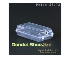 Clear Shoe Box - Under-bed Storage Container with Lid - For Shoes / Home / Tools / Accessories /