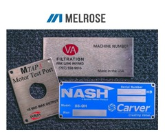 Nameplates Manufacturers and Suppliers in USA - Melrose