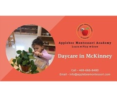 Daycare in McKinney TX – Applebee Montessori Academy
