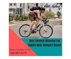 Best Electric Bicycles For Adults Near Newport Beach