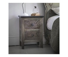 Shop Bedside Tables Online and Get  Exclusive Discount from Luxury Handicrafts