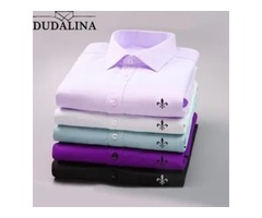 DUDALINA 2020 MEN CASUAL LONG SLEEVED SHIRT.