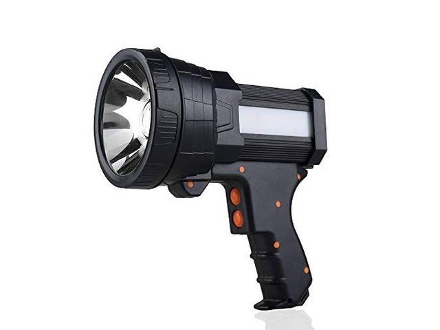 BIGSUN LED RECHARGEABLE FLASHLIGHT HIGH LUMENS 9600MAH | free-classifieds-usa.com