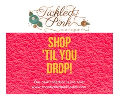 Get cute and comfy Women's tops in the brand new collection of Tickled Pink Boutique