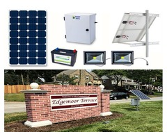Solar Power Security Camera Kits