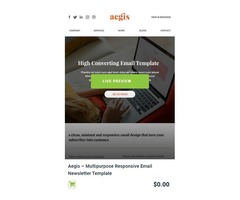 Find free email templates in USA @ mailerstock