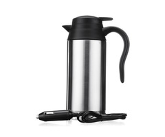 24V 750ml Portable Car Electric Kettle Pot Stainless Steel Camping Travel Bottle