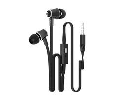 Langsdom JM21 In-ear 3.5mm Plug Bass Wired Control Earphone With Mic for Xiaomi Samsung iPhone