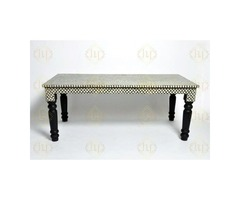 Find Best Dining Tables in USA @ Luxury Handicrafts