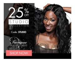 25% Off Indique Studio Collection Clip-ins
