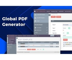 SuiteCRM PDF Templates- Global PDF Generator