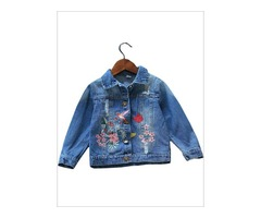 Denim Jacket for Girls - Miabellebaby