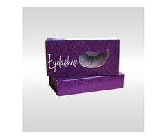 Get Eyelash Boxes to Simplifies the Work of Product Promotion